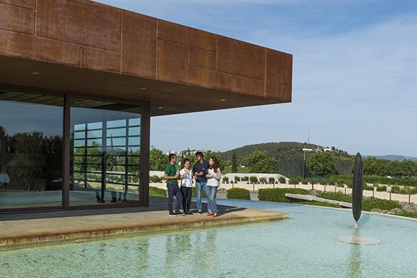 My top 5 wineries in spain my luxury love - Bodegas torres vilafranca ...